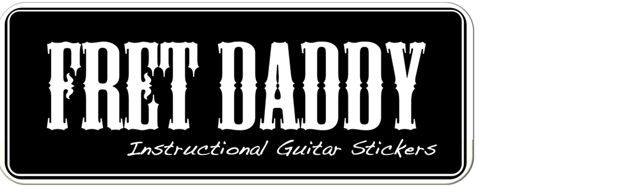 Guitar Chord Stickers